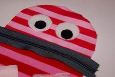 Frutzelei - Meine Kreativwerkstatt: Monsterchen für kranke Kinder