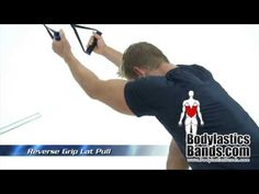 Resistance Band Back Exercises with Bodylastics Bands Resistance Band Back Exercises, Resistance Band Training, Home Gym Equipment, Back Muscles, At Home Gym, Personal Trainer, Bands, Workout, Youtube