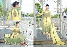 SF Designer Anarkali Indian Pakistani Salwar Kameez Bollywood Party Wear Ethnic  #Lookbollywood #BollywoodSalwarKameez