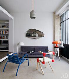 Квартира дизайнера Виктории Вильмотт вПариже.