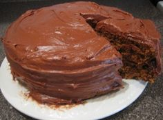 Great Grandma Young's Homemade Chocolate Cake Recipe   Just A Pinch Recipes