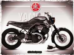 YAMAHA # BULLDOG 1100 # SPECIAL SCRAMBLER # CUSTOM MOTORCYCLES  backyardrider.com