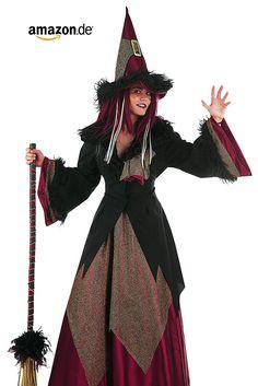 Kostüm Halloween Frau Gräfin Gothic /'800 Verkleidung Smiffy/'s 11838