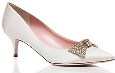 Gorgeous Kate Spade Marra heels for the chic bride.