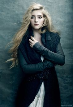 Willow Shields by Ricky Middlesworth • 2014