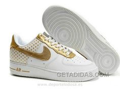 timeless design 1657c 14ebe Nike Air Force 1 Low Hombre Gypsophila Blanco Oro (Nike Air Force 1 Low  Tienda) New Release, Price   71.17 - Adidas Shoes,Adidas  Nmd,Superstar,Originals