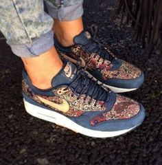 check out f3944 003b1 shoes nike sneakers white sneakers nike air max nike air max 90 hyperfuse  full pink air max blue pattern nike air max 1 liberty qa-armory navy  vachetta tan