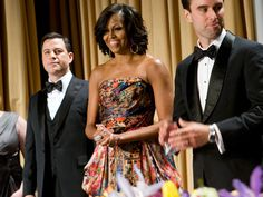 Mrs. Obama looks marvelous at the 2012 White House Correspondents' Association Dinner [Photo: Getty Images]