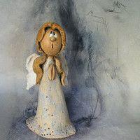 Prodané zboží od Jarmila Všetičková   Fler.cz Kokeshi Dolls, Salt Dough, Decorative Bells, Nativity, Teddy Bear, Clay, Pottery, Toys, Biscuit