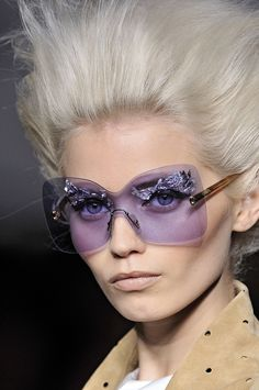 lavender beautiful sunglasses