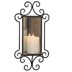 Williamsburg Mirror Candle Sconce - jcpenney