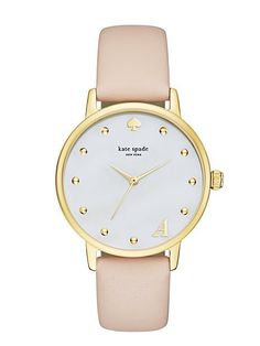 monogram metro watch - Kate Spade New York