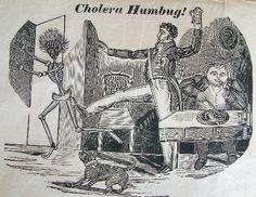 Cholera Humbug! (Poster trying to downplay fear of Cholera in Bristol, England. -- Victorian era)