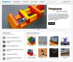 Sites I use for 3D Printing