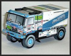 Orpi Maroc 2006 - Tatra Truck Paper Model Free Download