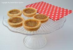 Butter Tarts - A Quintessential Canadian Dessert - My Island Bistro Kitchen Pastry Recipes, Tart Recipes, Cookie Desserts, Just Desserts, Recipe For Butter Tarts, Bistro Kitchen, Tart Filling, Best Butter, Pastry Shells