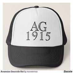 Armenian Genocide Hat #Armenian #Genocide #April241915 #April24 #Turkey #Armenia #Guilty #MassKilling #Justice #Hat #Cap