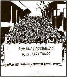 Viñeta: El Roto - 16 OCT 2013   Opinión   EL PAÍS Granada, Romper, Cards Against Humanity, Movies, Movie Posters, Truths, Tela, Christians, Equality