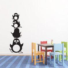 Pingvintårn wallsticker
