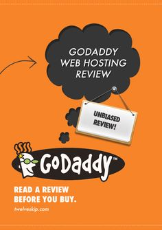 Unbiased GoDaddy Review: http://www.twelveskip.com/reviews/web-hosting/1347/godaddy-web-hosting-review #GoDaddy #GoDaddyReview