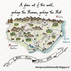 From 🐍 LA VIPERA E LA FARFALLA 🦋, our animated #webcomic about war and plague, love and destiny in Italian Alps in 1917. English, French and Italian versions. #comics #manga #romance #Alps #Italy #angel #ww1 #drama #watercolour #lagomaggiore