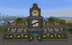 town hall creation #390 Minecraft castle Minecraft underwater Minecraft modern