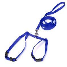 [US$2.99] Pet Cat Kitten Adjustable Harness Nylon Collar Belt Lead Leash #kitten #adjustable #harness #nylon #collar #belt #lead #leash