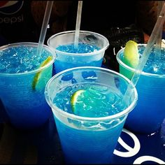 non-alcoholic blue drinks that look like this? @Melissa Squires Reyes