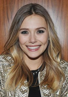 Hot Hair Color Trend: Bronde Hair: Elizabeth Olsen