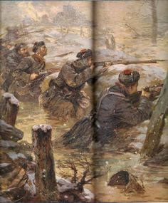 French Fusiliers Marins -Flanders Winter 1914