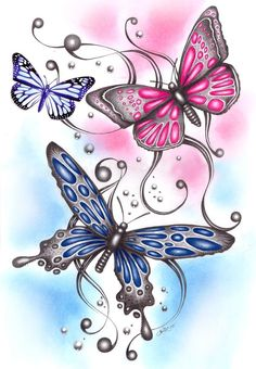 Google Image Result for http://th02.deviantart.net/fs4/PRE/i/2005/139/2/3/3_drawn_butterflies_by_ashdesigns.jpg