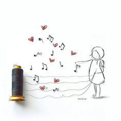 M.Bra.Rilo. Hilos y musica♡
