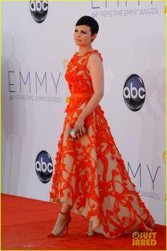 Ginnifer Goodwin - Emmys 2012 Red Carpet