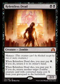 MTG Zombie Apocalypse Deck Magic The Gathering Full Art Lands Mono Black