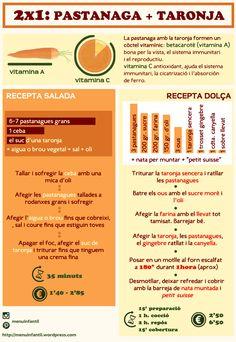 taronja i pastanaga #vitaminas #recepta