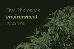 Free Photoshop Environment Brushes
