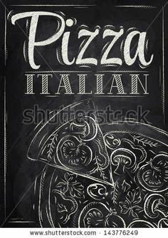 italian pizza ilustraciones - Buscar con Google