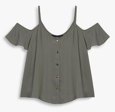 Blusa Corta con Hombros Descubiertos. Hazla tú misma! – Patrones De Costura
