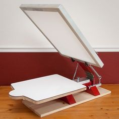 screen printing press... make your own by Haha Bird.