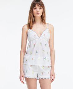 Pantalón corto little flowers