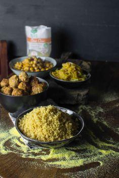 Un couscous particolare: grano duro integrale e lenticchie rosse