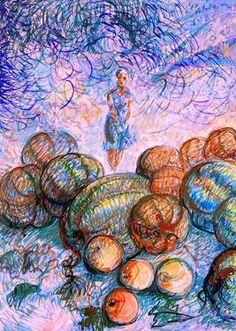"Saatchi Art Artist Nada  Sucur Jovanovic; Painting, ""Women "" #art"