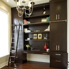 contemporary home office by Sandra Doyle