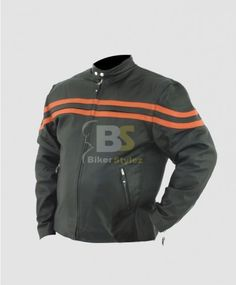 PLACIDITY MEN RACER W/FRONT AIRVENTS JACKET