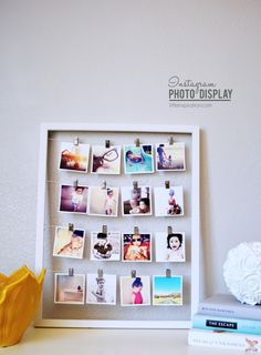 23 Unique Photo Display Ideas CONTINUE:…