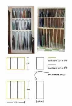 Glass Sheet Storage I Built Stained Glass Stained