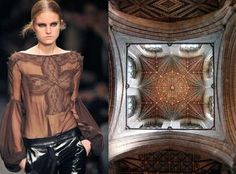 Architecture and geometry details. Gothic inspired fashion.
