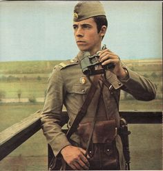 Romanian border guard on watchtower. The Lost World, People Of The World, Romanian People, Enver Hoxha, Pictures Of Soldiers, Socialist State, Border Guard, World Of Warriors, Warsaw Pact