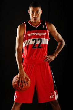 Otto Porter #22 of the Washington Wizards poses for a portrait during the 2013 NBA rookie photo shoot