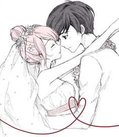 wedding day >< what manga is this ?? or is it a fanart?